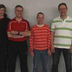 Das Trainerteam für das Jugendtraining