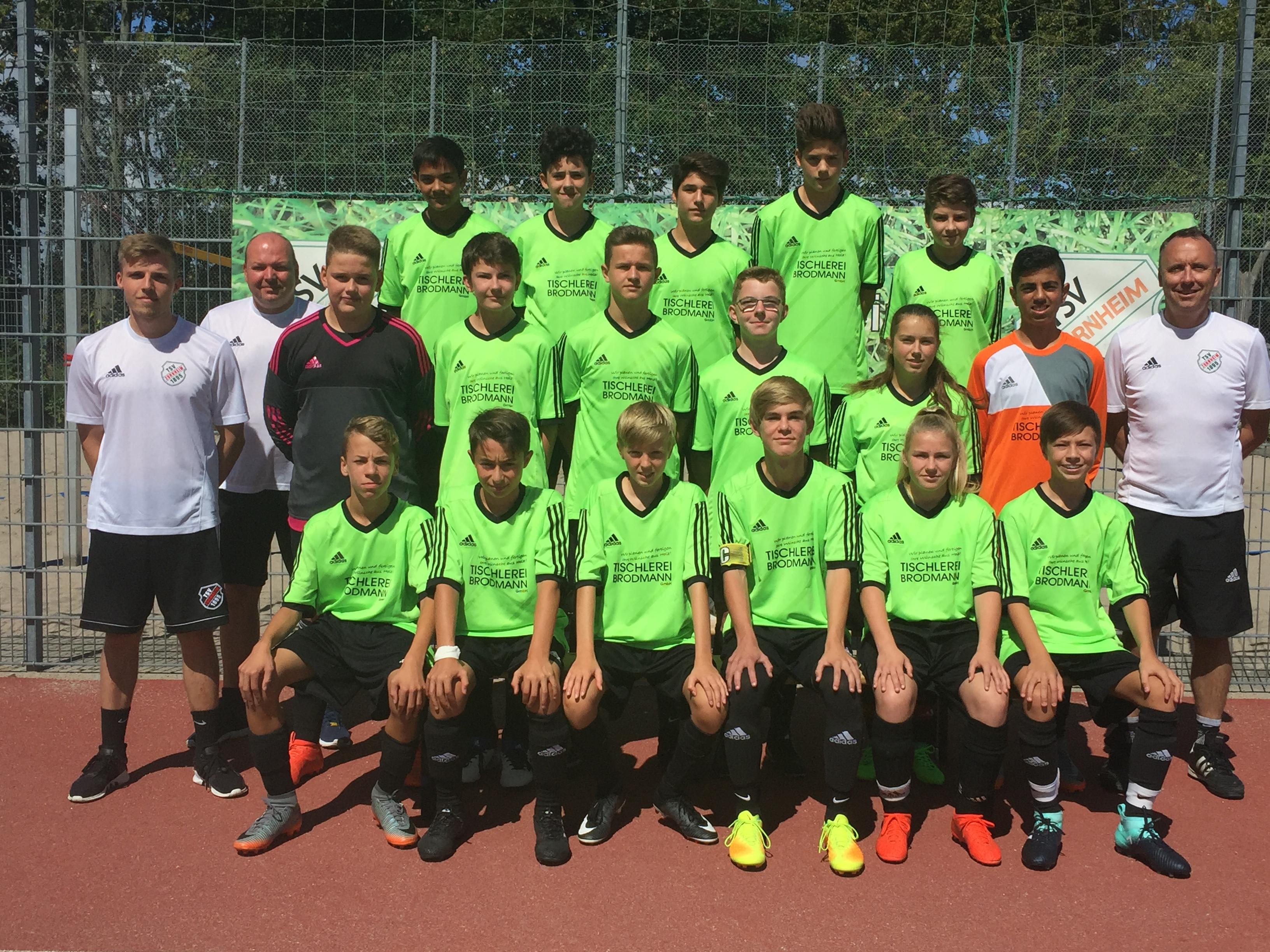 2017 08 20 C Jugend Team